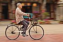 Cycling in front of Shanhua Qingan Temple 20140323.jpg