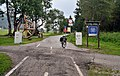 Cycling route border Italy - Slovenia, Rateče.jpg