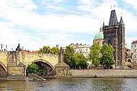 Czech-03956 - Charles Bridge & Tower (32206293573).jpg