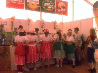Beer festival - Costumes at the Czech Beer Festival