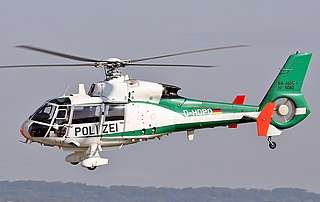 Aérospatiale SA 360 Dauphin series of light utility helicopters