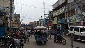 Saharsa - DB road, Saharsa