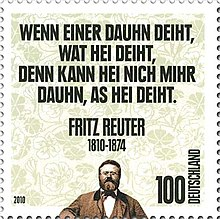 200. Geburtstag Reuters: Deutsche Briefmarke von 2010 (Quelle: Wikimedia)