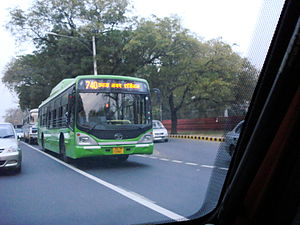 Tata Marcopolo - Image: DTC low floor bus
