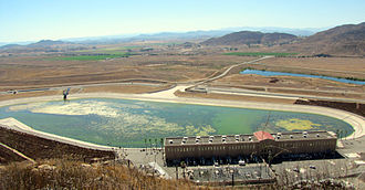 Diamond Valley Lake - The forebay and pumping station