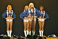 Dallas Cowboys Cheerleaders Performance - U.S. Army Garrison Humphreys, South Korea - 21 December 2011 (6558513969).jpg