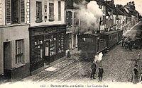 Dammartin-en-Goële (77), train du tramway de Meaux à Dammartin.jpg