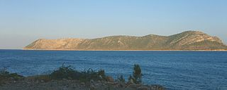 Dana Island Island in Mersin Province, Turkey