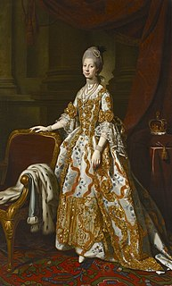 Queen consort of the United Kingdom as the wife of King George III