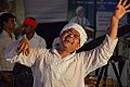 Dancing Devotee - Evening Function - Rawatpura Sarkar Ashram - Chitrakoot - Satna 2014-07-05 6919.JPG