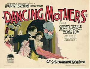 Dancing Mothers - Lobby card