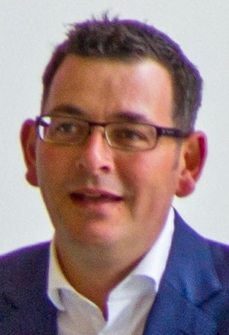 Premiers of the Australian states - Image: Daniel Andrews, Melbourne International Games Week 2015 Launch (cropped 2)
