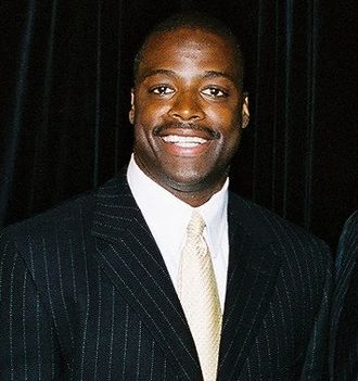 Darrell Green - Green at a Dept. of Education event