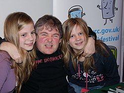 Darren Shan with fans.jpg