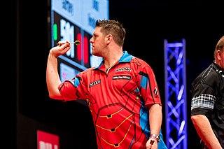 Daryl Gurney Northern Irish darts player