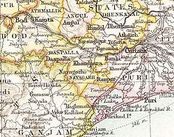 Location of Baramba