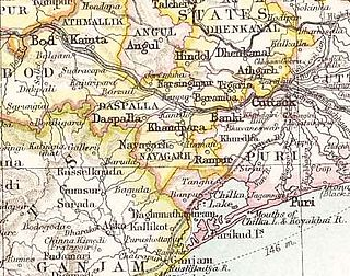 Nayagarh State princely state of the British Raj