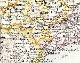 Ranpur State - Ranpur State in the Imperial Gazetteer of India