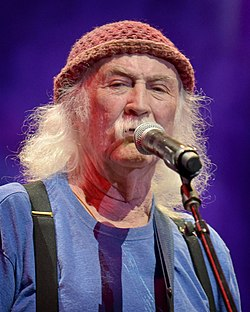David Crosby in Los Angeles, California on July 3, 2019