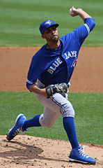 David Price jako zawodnik Toronto Blue Jays.