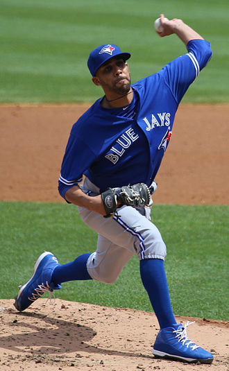 David Price (baseball) - Price pitching for the Toronto Blue Jays in 2015