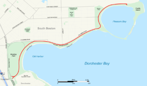 Day Boulevard - Day Boulevard highlighted in red