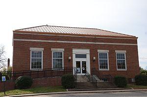 DeWitt Post Office (DeWitt, Arkansas) - Image: De Witt Post Office