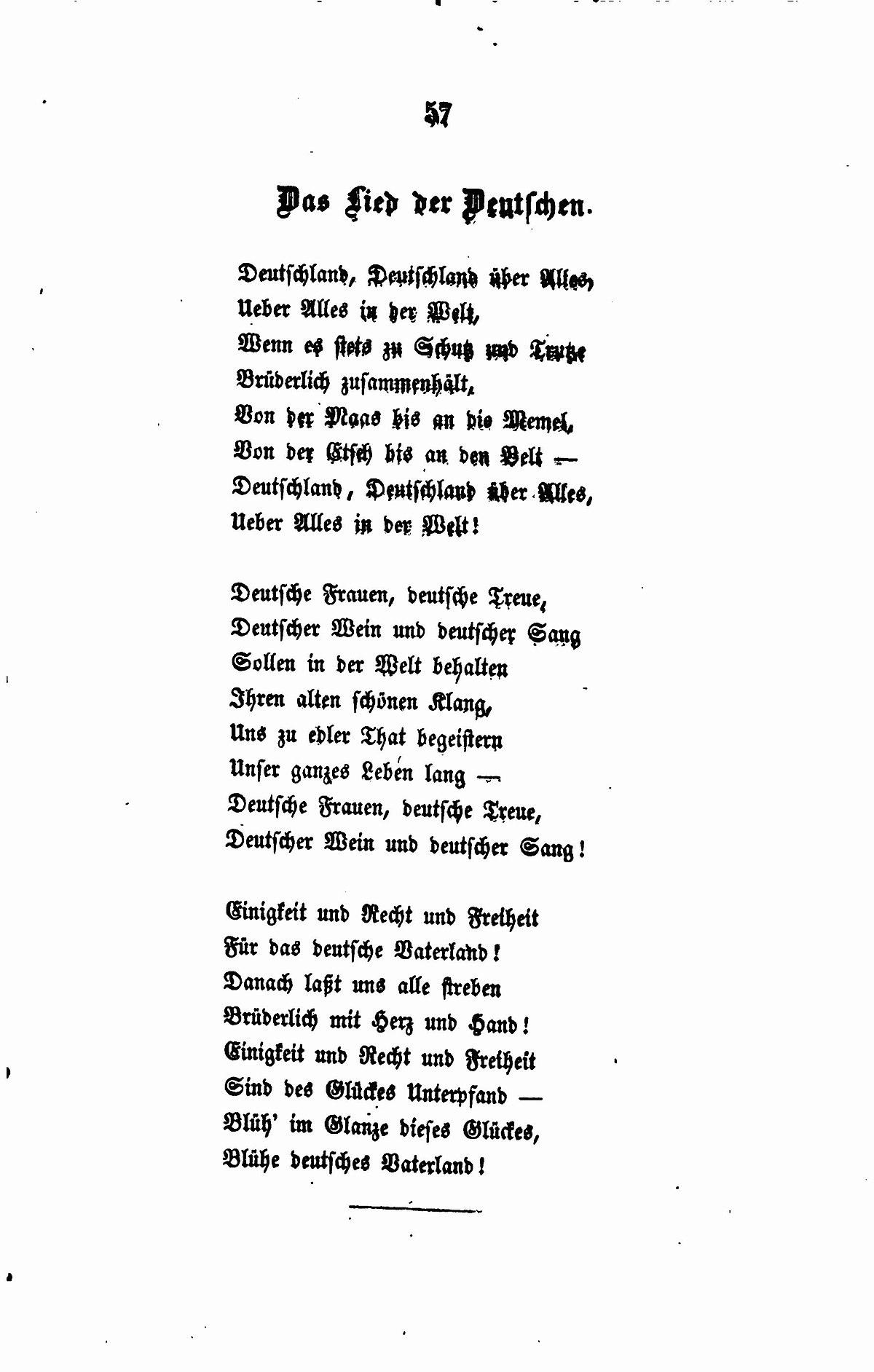 Filede Fallersleben Gedichte 057jpg Wikimedia Commons