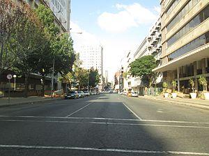 Braamfontein - De Korte Street.