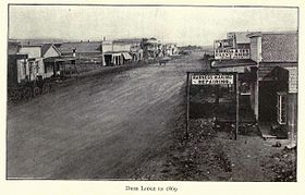 Deer Lodge en 1869