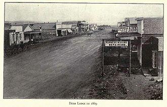 Deer Lodge, Montana - Deer Lodge in 1869