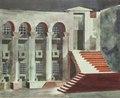 Dekorationsskiss av Isaac Grünewald - Fiesco - SMV - DTM 1991-0173.tif