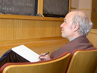 Pierre Deligne Belgian mathematician