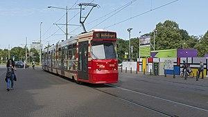 Den Haag Centraal HTM 3110 lijn 16 Wateringen (36696815232).jpg