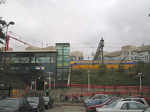 Den Haag Laan van NOI railway station - Image: Den Haag station Laan NOI