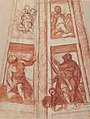 Design for the Decoration of a Cupola with a Prophet, King David and Two Putti MET 2002.74 RECTO.jpg