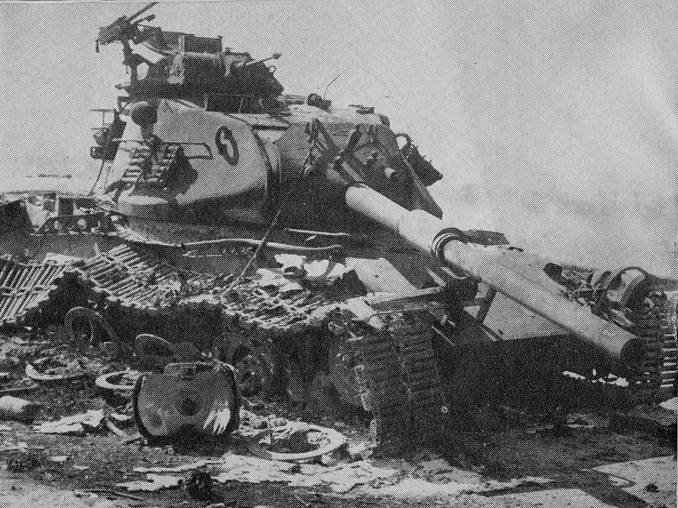 Destroyed m60