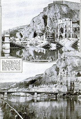 Image illustrative de l'article Sac de Dinant (1914)