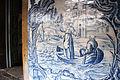 Detalhe de azulejo português nos corredores do Convento de São Francisco em Olinda.JPG
