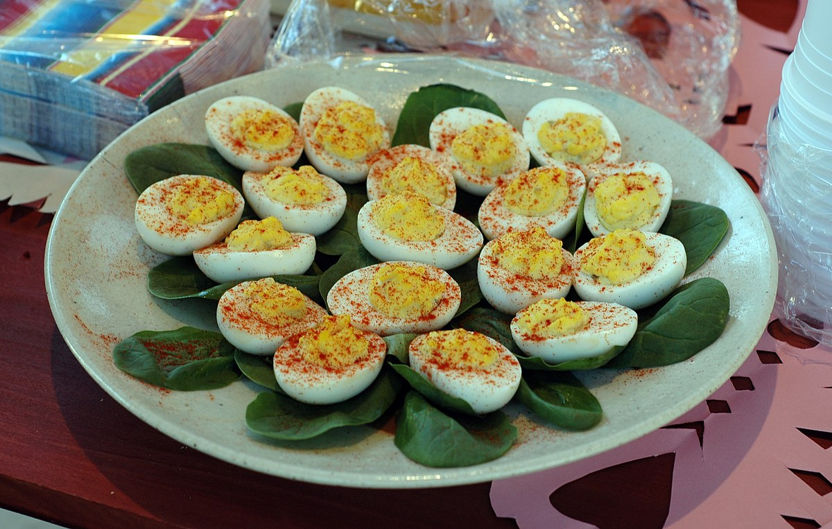 Image result for devilled eggs