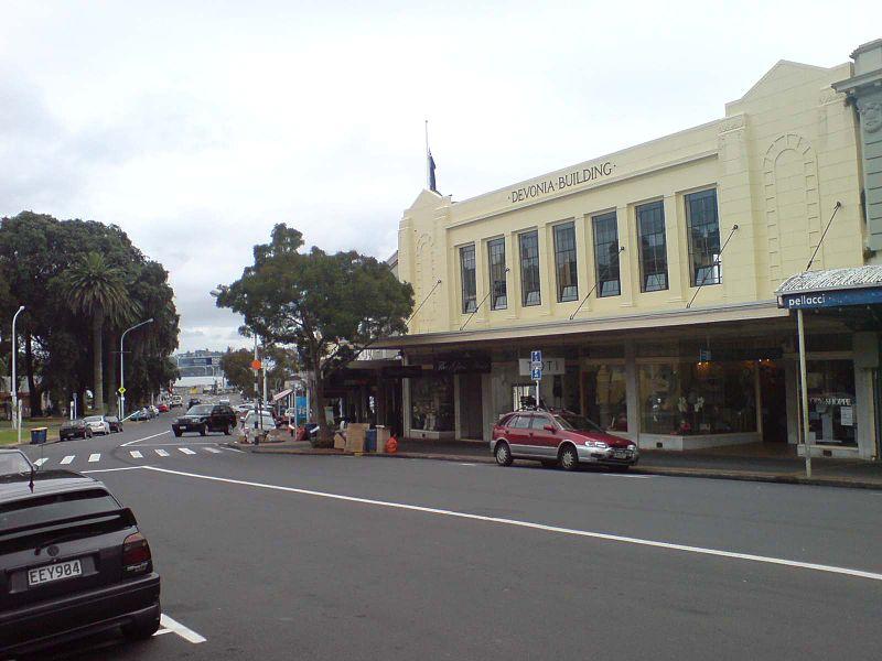 File:Devonia Building In Devonport, Auckland.jpg