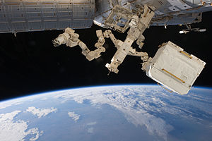 Dextre - Dextre, as photographed by an Expedition 27 crew member