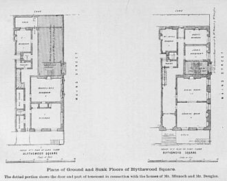 Madeleine Smith - A diagram of the layout of the apartments.