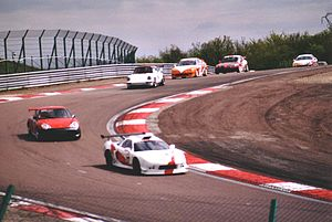 Dijon-Prenois - Warm-up lap of the European Honda Trophy race, Gauche de la bretelle corner (2004)