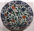 Dish, Turkey, Iznik, c. 1560-1580 AD, underglaze-painted fritware - Aga Khan Museum - Toronto, Canada - DSC06755.jpg