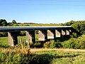 Disused railway viaduct. - geograph.org.uk - 548835.jpg