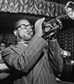 Dizzy Gillespie, Downbeat, New York, N.Y., between 1946 and 1948 (LOC) (5306378663) (cropped).jpg
