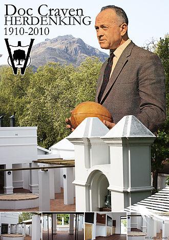 Danie Craven - 100-year Anniversary of Doc Danie Craven at Wilgenhof men's residence in Stellenbosch.