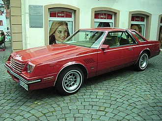 Dodge Mirada - 1981 Dodge Mirada