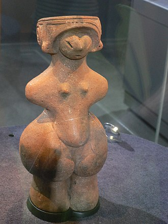 Dogū - Jōmon Venus, National Treasures of Japan, Togariishi Jōmon Archeological Museum.
